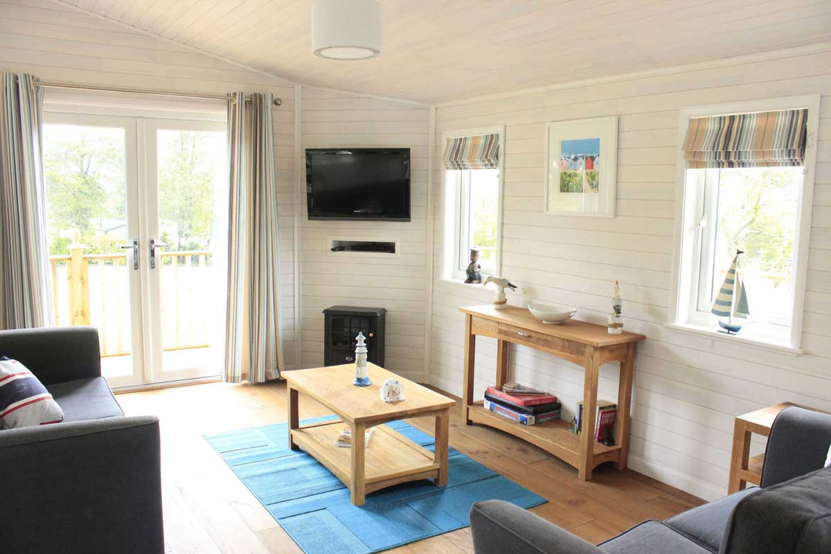 Holiday Lodge In Cornwall