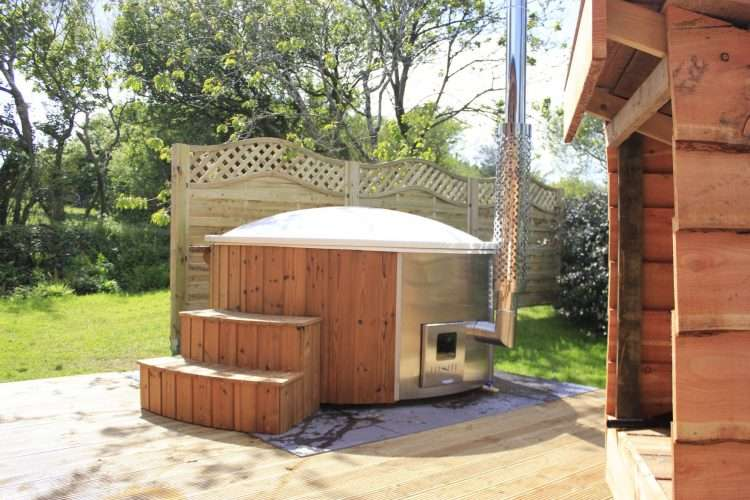 Hot tub lodges
