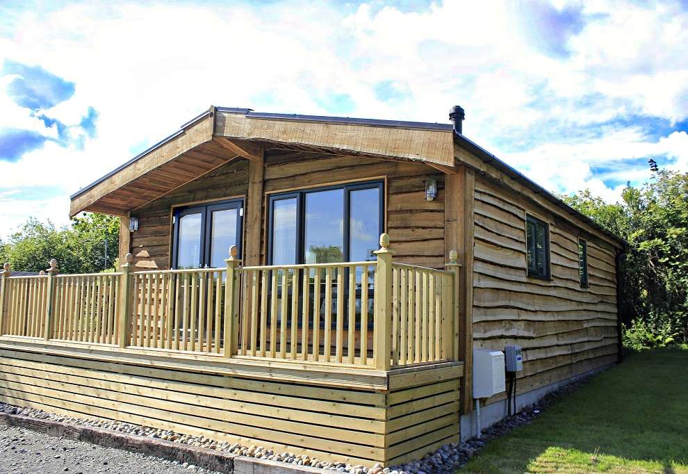 Second hand lodge for sale, Cornwall £119,000.. SOLD