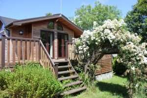 Fabulous holiday accommodation, 3 bedroom lodge with hot tub