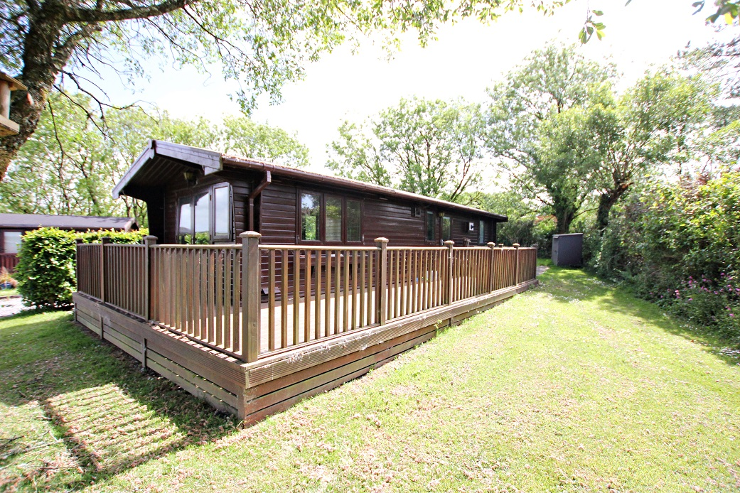 Timber Lodge for sale in Cornwall. SOLD