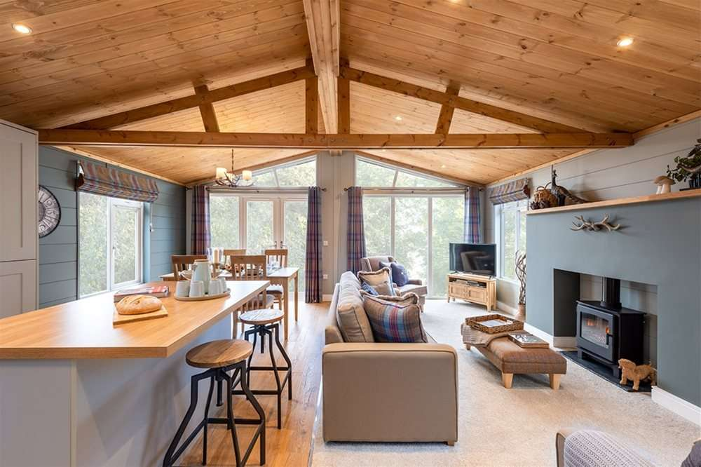 """Luxury lodge for sale. """"The Forester."""""""